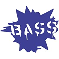 Bass Vinyl Decal Sticker