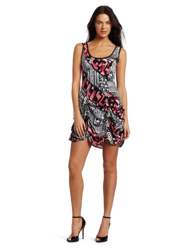 Tiana B Women's Printed Pick Up Artist Jersey Dress