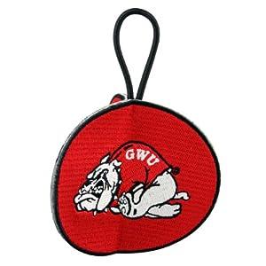 NCAA Gardner Webb University 3 Sided 3D Embroidered Ornament