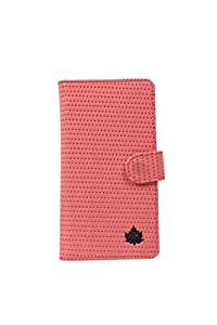99 Maple pu leather Wallet Flip Pouch Case for Reliance Jio Lyf Water 2