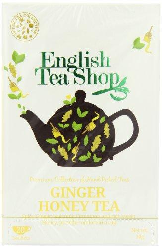 English Tea Shop Ginger Honey Super Tea 20 Sachet Tea Bags  (Pack of 3)