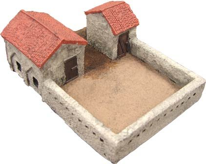 Terrain: 15mm Middle East - Walled Compound M.E.