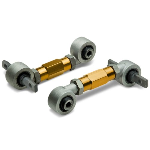 Honda Civic & CRX Steel Alloy Rear Racing Camber Kits (Gold) - EE EF EG DC (Honda Civic 2000 Camber Kit compare prices)