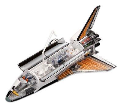 Space Shuttle 4D Vision (Cubic Puzzle)-image