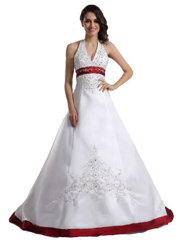 red and white wedding gowns lots of wedding ideascom