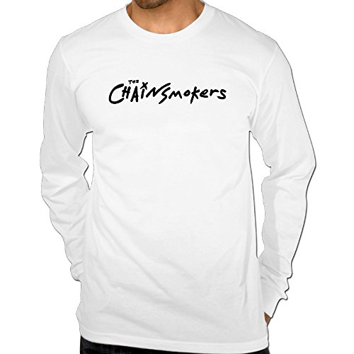 Men's The Chainsmokers Logo Cotton Long Sleeve T-shirt (Sundance Merchandise compare prices)