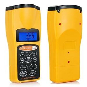 TRIXES Télémètre laser à ultrasons et pointeur laser
