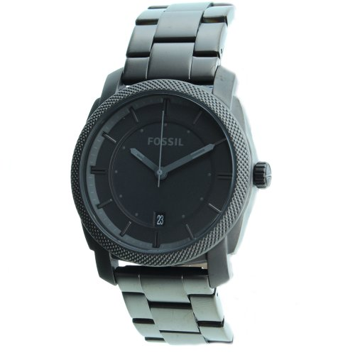 Fossil Men's FS4705 Stainless Steel Analog Grey Dial Watch