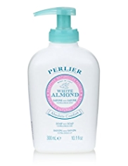 Perlier White Almond Soap-Not-Soap Ultradelicate 300ml
