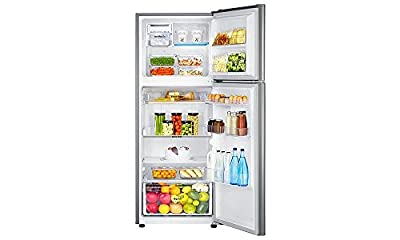 Samsung RT36JSRZESP Frost-free Double-door Refrigerator (345 Ltrs, 4 Star Rating, Platinum Inox)