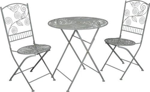 jugendstil gartenm bel tisch altweiss oval garten tisch klappbar gartentisch g nstig online. Black Bedroom Furniture Sets. Home Design Ideas