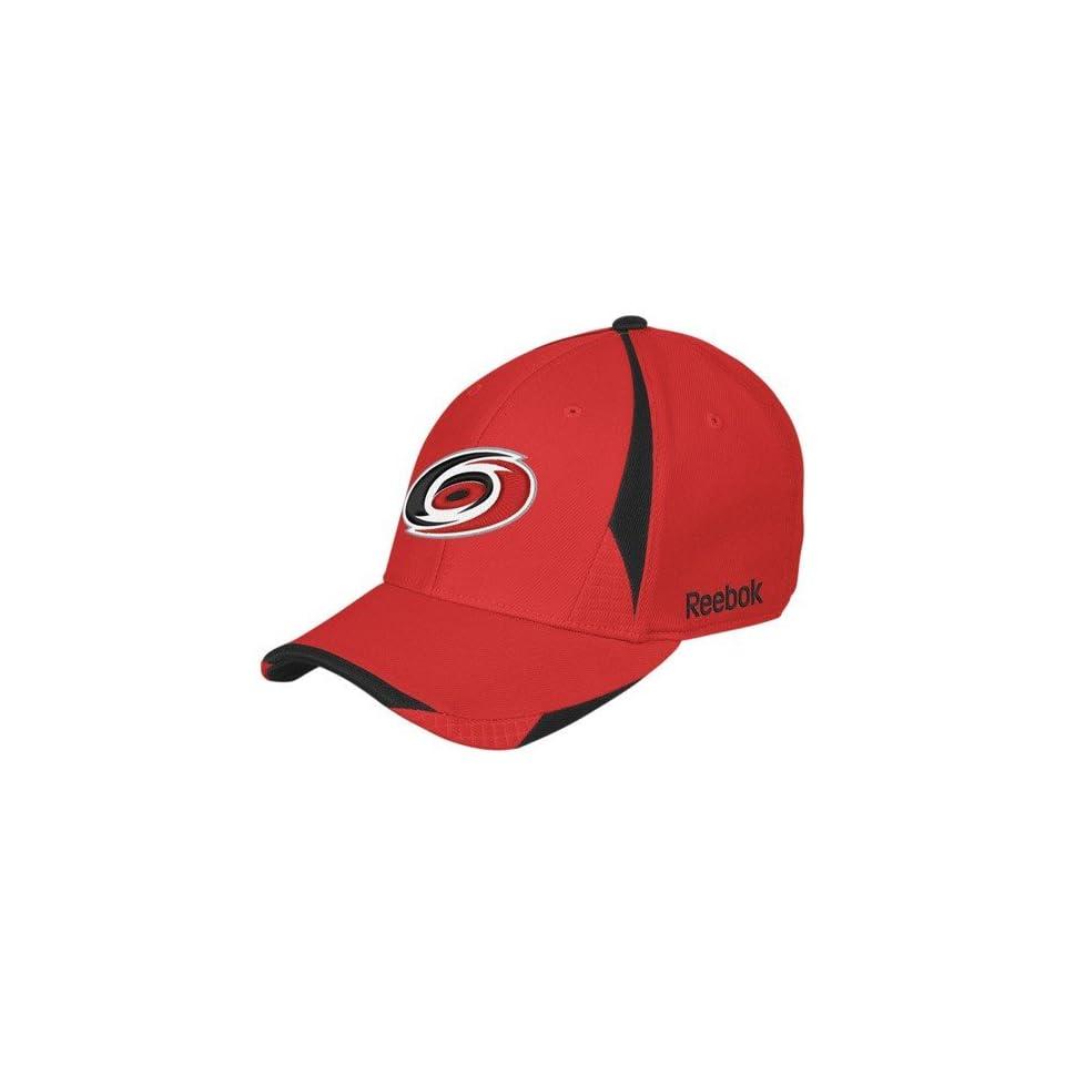 Reebok Carolina Hurricanes 2nd Season Stretch Fit Hat Carolina Hurricanes  Small Medium 6cd8ddd8117e