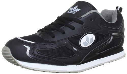 Lico Nelson Indoor Shoes Mens Black Schwarz (schwarz/grau) Size: 9 (43 EU)