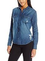 Joe's Jeans Camisa Vaquera Sloane Shirt (Azul)
