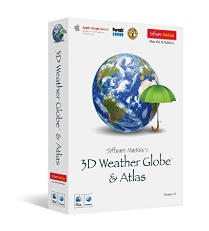 MacKiev 3D Weather Globe And Atlas