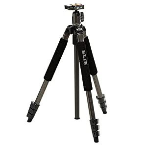Slik Sprint Pro II Tripod in Gun Metal With Quick Release Ball Head & Case