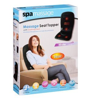 Spa Massage Massage Seat Topper with Soothing Heat