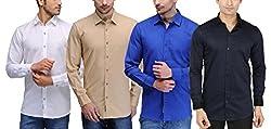 Feed Up Combo of 4 Mens Shirts 40
