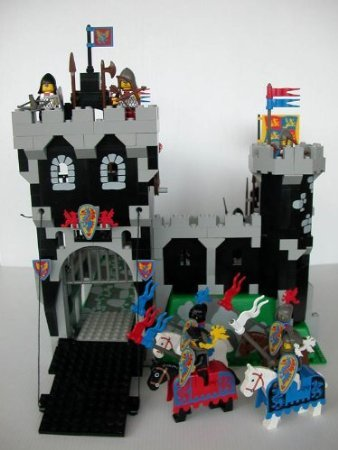Lego ( Lego ) Black Knight's Castle (6086) block toys ( parallel imports )