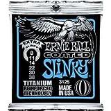 Ernie Ball Slinky Titanium Reinforced 3125 Jeu de Cordes Extra Light 8-38