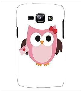 SAMSUNG GALAXY J1 OWL Designer Back Cover Case By PRINTSWAG