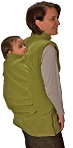 Peekaru Original Fleece Baby Carrier Cover Medium - Green (Discontinued by Manufacturer)