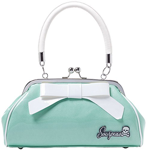 Sourpuss Super Floozy Purse Seafoam