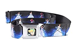 Walt Disney Seatbelt Belt - Cinderella - Cinderella in Ball Gown w/ Magic Dust