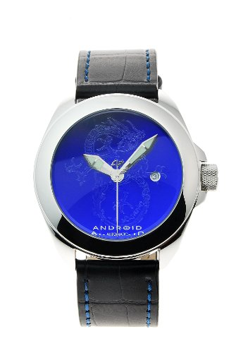 Android Men's Tattooed Banker Dragon Edition Automatic Leather Strap Watch