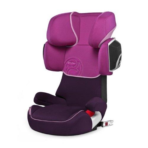 Cybex Gold 514117010 Solution X2-Fix Seggiolino Auto per Bambini, Gruppo 2/3, Lollipop/ Purple