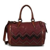 Hot Sale MyLux Handbag 909645 burgundy