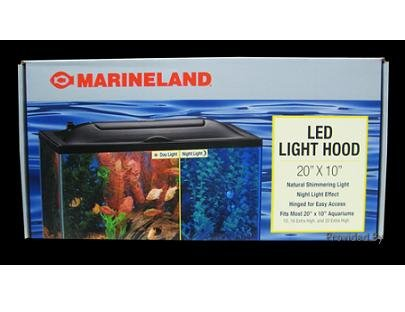 Marineland Led Aquarium Hood 20 By 10 Marineland Led Light