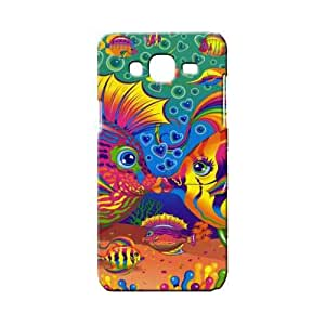 BLUEDIO Designer 3D Printed Back case cover for Samsung Galaxy A3 - G2252