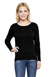 Renka Black Color winter Pullover for Women
