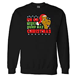 Merry Hump Day Christmas Camel Sweatshirt Sweater