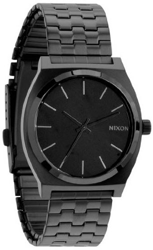 Nixon Time Teller Navy / Red Nylon Watch