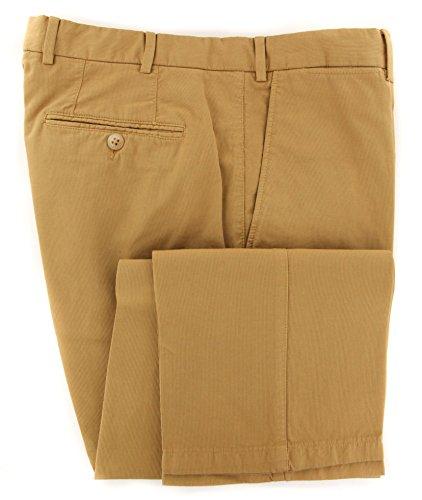 canali-beige-solid-pants-slim-32-48