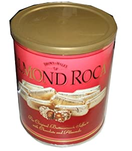 Brown and Haley Almond Roca Buttercrunch Toffee 29oz./822g Gift Cannister