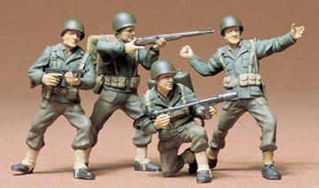 Buy Low Price Tamiya 35013 1/35 US Army Infantry Figure (B000LFQR74)