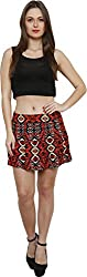 Petipack Women's Skirt (PP026, Multi-Coloured, Medium)