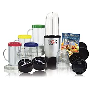 Magic Bullet MBR-1701 17-Piece Express Mixing Set 17件套食物粉碎调理机