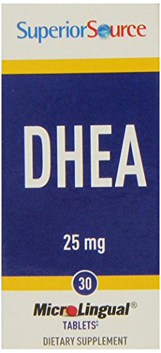 Superior Source DHEA suppléments nutritionnels, 25 mg, 30 Count