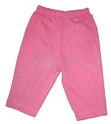 Kissy Kissy Baby-Girl Infants Essentials Leggings-Fuschia-9 Months