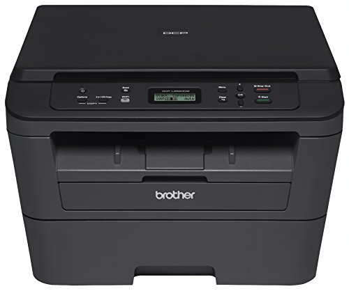 Brother DCP-L2520DW Wireless Monochrome  Compact Laser 3-in-1 Printer with Wireless Networking and Duplex Printing