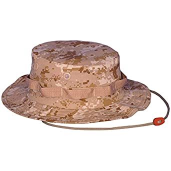 Outdoor Men's Ripstop Boonie Hat 7 Digital Desert Camouflage Ripstop