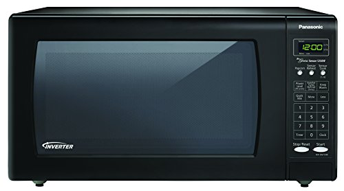Panasonic NN-SN733B Black 1250W 1.6 Cu. Ft. Countertop Microwave Oven with Inverter Technology (Convection Oven Cart compare prices)