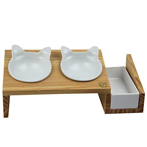 ViviPet Cat Dining Table 15176 Tilted Platform Pet Feeder  : 418ebh2BR5L from www.bta-mall.com size 500 x 500 jpeg 19kB
