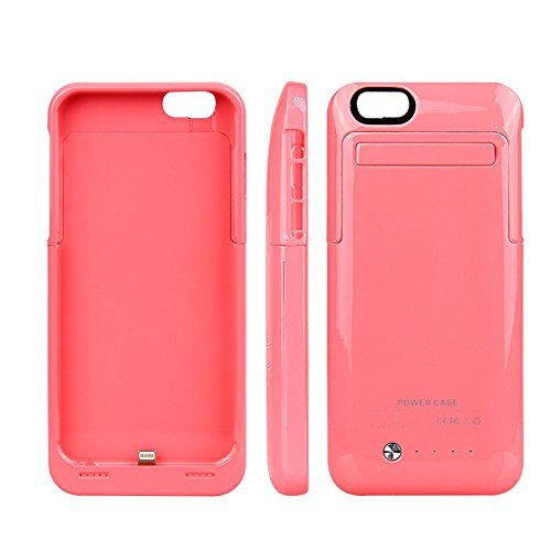 Ultra ? Edition Pink coloured Iphone 6 6s 3500 mah iOS9 Power Bank charger case for Iphone 6 4.7