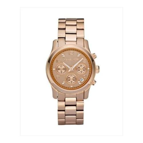 Amazon.com: New MICHAEL KORS MK5368 Mid Size Rose Gold Tone Limited