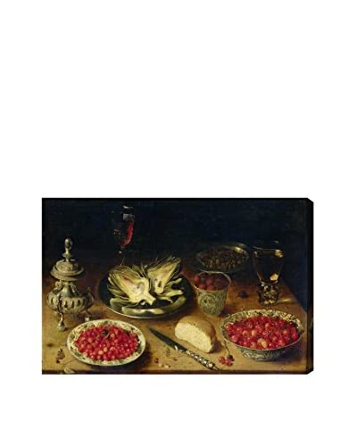 "The Art Cabinet ""Arranged Dinner Table"" Canvas Print"